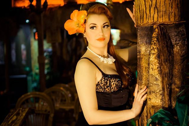 Dolly Berlin at Shameful Tiki Room